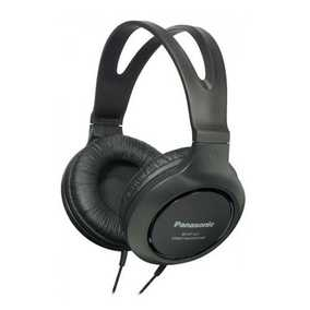 Panasonic RP-HT161E-K Wired without Mic Headphone (Over-Ear)