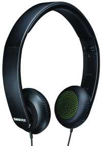 Shure SRH144-A Semi-Open Portable Collapsible Wired without Mic Headphone (On-Ear)