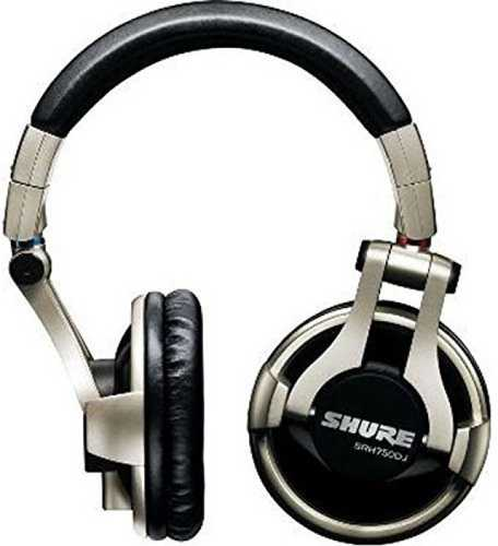 Shure SRH750DJ Professional Dj Wired without Mic Headphone (Over-Ear)