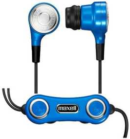 Hitachi Earphone Vibrabone Blue Maxell Canal Bone Conduction Type Headphone (Blue, Open Ear)
