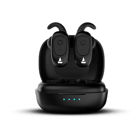 boAt Airdopes 203 True Wireless Bluetooth with Mic Earbuds (Water Resistance, In-Ear)