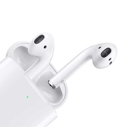 Apple AirPods with Wireless Charging Case True Wireless Bluetooth with Mic AirPods (In-Ear)