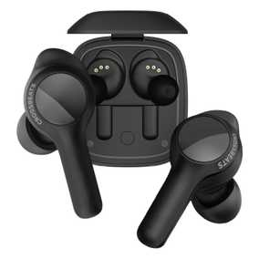 CrossBeats CB-Torq Torq True Wireless Bluetooth with Mic Water Resistant Gaming Earbuds (in-Ear) with True Wireless Charger