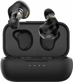 CrossBeats CB-Evolve Evolve True Wireless Bluetooth with Mic Sweat and Water Resistant Earbuds (in-Ear)