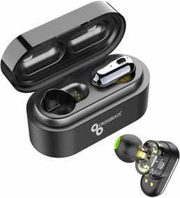 CrossBeats CB-Elektra Elektra True Wireless Bluetooth with Mic Water Proof Sport Earbuds (in-Ear)