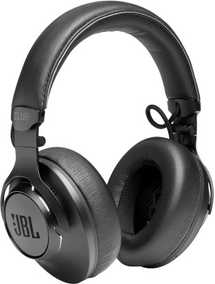 JBL JBLCLUB700BTBLK CLUB 700BT Wired & Wireless (Combo) Bluetooth with Mic Noise Cancellation Headphones (On-Ear)