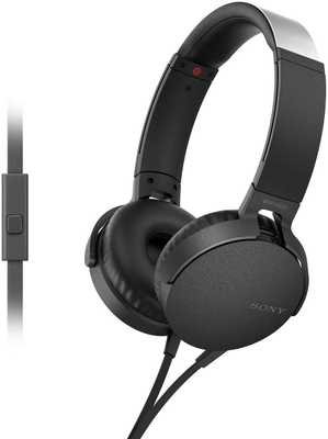 Sony NDR-XB550AP Wired with Mic Headphones (On-Ear)