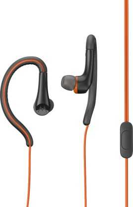 Motorola JY-M268 Earbuds Active Wired with Mic Water Resistant & Sweat Proof Earphones (in-Ear)