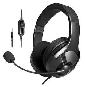 AmazonBasics MW-GAH-001 Bendable Wired with Mic Gaming Headset (Over-Ear)