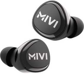 Mivi TEDPM20-BK DuoPods M20 True Wireless Bluetooth with Mic Sweat Proof Sport Earbuds (in-Ear)