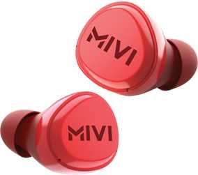 Mivi TEDPM20-RD DuoPods M20 True Wireless Bluetooth with Mic Sweat Proof Sport Earbuds (in-Ear)