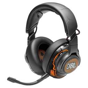 JBL JBLQUANTUMONEBLK Quantum ONE Wired with Mic Gaming Headset (Over-Ear)