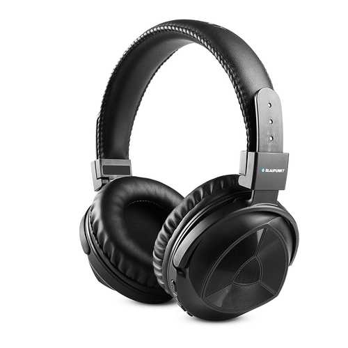 Blaupunkt BH11 Wired & Wireless (Combo) Bluetooth with Mic Headphones (Over-Ear)
