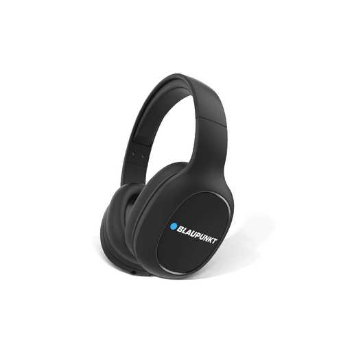 Blaupunkt BH21 Wired & Wireless (Combo) Bluetooth with Mic Noise Isolation Sport Headphones (Over-Ear)
