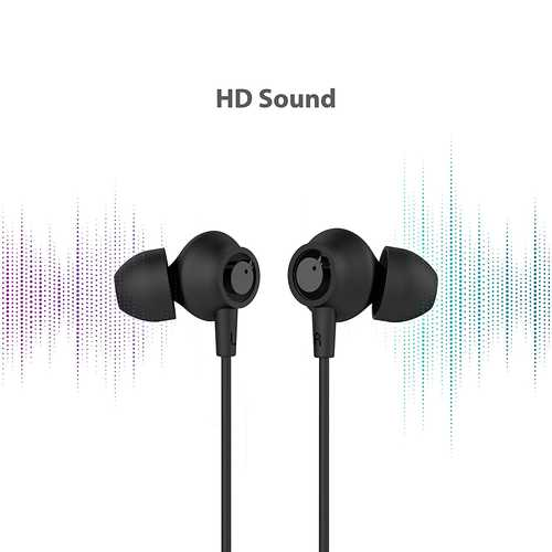 Blaupunkt EM10 Wired with Mic Noise Isolation Earphones (in-Ear)
