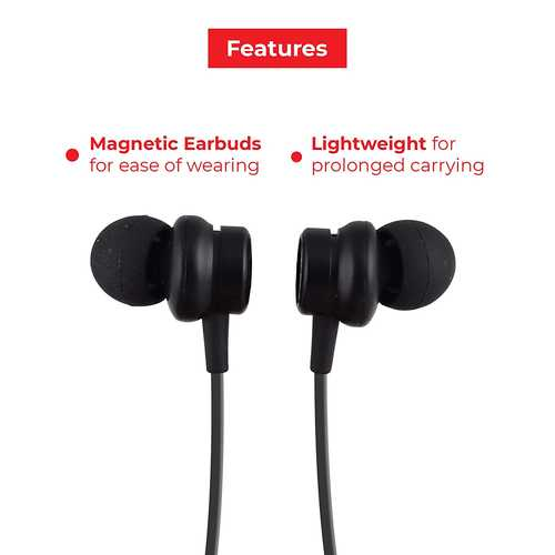 Lenovo HE05 Wireless Bluetooth with Mic Water Resistant Sport Headset (in-Ear)