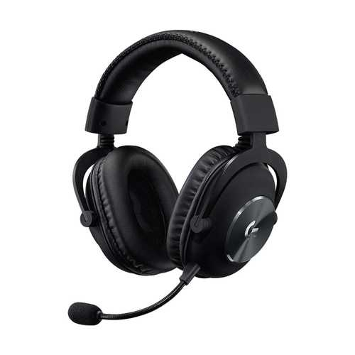 Logitech (981-000820) G Pro X Wired with Mic Gaming Headset (Over-Ear)