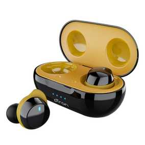 pTron Bassbuds Elite True Wireless Bluetooth with Mic Passive Noise Cancellation Earbuds (in-Ear)