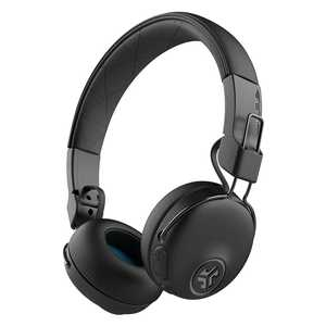 JLab Audio IFCHBASTUDIOANCRBLK4 Studio ANC Wired & Wireless (Combo) Bluetooth with Mic Active Noise Cancellation Headphones (On-Ear)