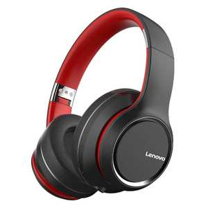 Lenovo HD200 Wired & Wireless (Combo) Bluetooth with Mic Noise Cancellation Headphones (Over-Ear)