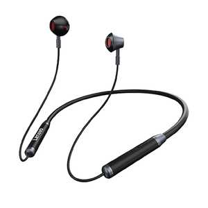 Lenovo HE06 Wireless Bluetooth with Mic Sweat and Water Resistant Headset (in-Ear)