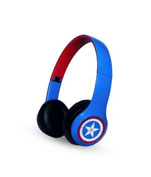 Macmerise Cap Am Avenger P47 Wired & Wireless (Combo) Bluetooth with Mic Passive Noise Isolation Headphones (On-Ear)