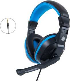 Nu Republic Viper Work N Play Wired with Mic Passive Noise Isolation Headphones (Ove-Ear)