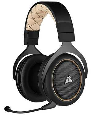 Corsair CA-9011210-AP Wired & Wireless (Combo) with Mic Noise Cancellation Gaming Headphones (On-Ear)