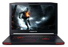 Acer Predator 17 G9-792-75N5 (NH.Q0PSI.001) (17.3 inch (43 cm), Intel 6th Gen Core i7-6700HQ, 16 GB DDR4 RAM, 1 TB HDD + 128 GB SSD, 8 GB Graphics, Windows 10 Home) Gaming Laptop