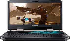 Acer Predator 21X GX21-71-73MK (NH.Q1RSI.001) (21 inch (53 cm), Intel 7th Gen Core i7-7820HK, 64 GB DDR4 RAM, 1 TB HDD + 1 TB SSD, 16 GB Graphics, Windows 10 Home) Gaming Laptop