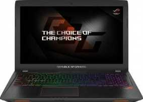 Asus ROG GL553VD-FY130T (15.6 inch (39 cm), Intel 7th Gen Core i5-7300HQ, 8 GB DDR4 RAM, 1 TB HDD + 1 TB SSD, 4 GB Graphics, Windows 10 Home) Gaming Laptop
