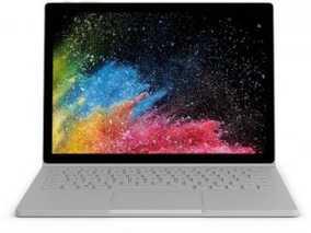 Microsoft Surface Book 2 HN4-00001 (13.5 inch (34 cm), Intel 8th Gen Core i7-8650U, 8 GB DDR3 RAM, 256 GB SSD, 2 GB Graphics, Windows 10 Pro) Touchscreen Laptop