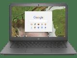 HP Chromebook 14 G5 (3ZC98PA) (14 inch (35 cm), Intel Celeron N3350, 8 GB DDR4 RAM, 32 GB eMMC, Chrome OS) Laptop