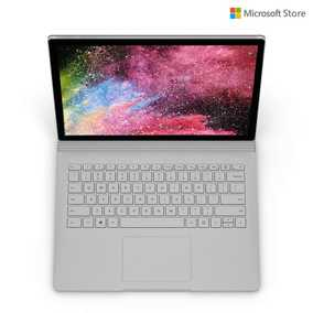 Microsoft Surface Book 2 HNL-00022 (13.5 inch (34 cm), Intel 8th Gen Core i7-8650U, 16 GB DDR3 RAM, 512 GB SSD, 2 GB Graphics, Windows 10 Pro) Touchscreen Laptop