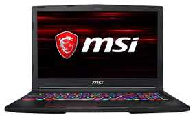 MSI GE63 9SF-800IN (15.6 inch (39 cm), Intel 9th Gen Core i7-9750H, 16 GB DDR4 RAM, 1 TB HDD + 512 GB SSD, 8 GB Graphics, Windows 10 Home) Gaming Laptop