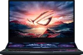 Asus ROG Zephyrus Duo 15 GX550LXS-HC145TS (15.6 inch (40 cm), Intel 10th Gen Core i7-10875H, 32 GB DDR4 RAM, 2 TB SSD, 8 GB Graphics, Windows 10 Home) Dual Screen Gaming Laptop with MS Office