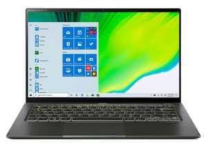 Acer Swift 5 SF514-55TA-72VG (NX.A6SSI.001) (14 inch (35.56 cm), Intel 11th Gen Core i7-1165G7, 16 GB LPDDR4X RAM, 1 TB SSD, Windows 10 Home) TouchScreen Laptop