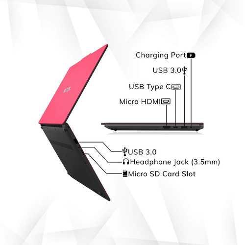 Avita Liber V14 NS14A8INV561-CRA (14 inch (35.56 cm), AMD Ryzen 5 3500U, 8 GB DDR4 RAM, 512 GB SSD, Windows 10 Home) Built-in Optimal Top Up Web Camera Laptop