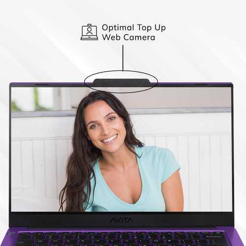 Avita Liber V14 NS14A8INV561-OPA (14 inch (35.56 cm), AMD Ryzen 5 3500U, 8 GB DDR4 RAM, 512 GB SSD, Windows 10 Home) Built-in Optimal Top Up Web Camera Laptop
