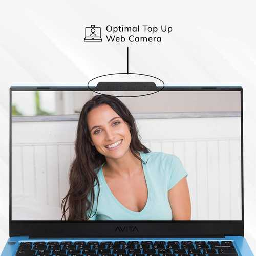 Avita Liber V14 NS14A8INV561-ABA (14 inch (35.56 cm), AMD Ryzen 5 3500U, 8 GB DDR4 RAM, 512 GB SSD, Windows 10 Home) Built-in Optimal Top Up Web Camera Laptop