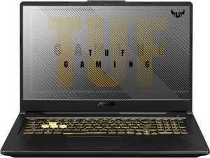 Asus TUF Gaming A17 FA706II-H7186T (90NR03P1-M04070) (17.3 inch (43 cm), AMD Ryzen 5 4600H, 8 GB DDR4 RAM, 1 TB HDD + 256 GB SSD, 4 GB Graphics, Windows 10 Home) Gaming Laptop