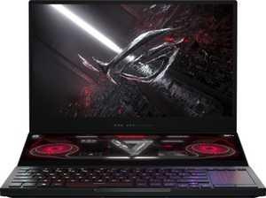 Asus ROG Zephyrus Duo 15 GX551QS-HF151TS (90NR04N1-M03470) (15.6 inch (39 cm), AMD Ryzen 9 5900HX, 32 GB DDR4 RAM, 2 TB SSD, 16 GB Graphics, Windows 10 Home) Gaming Laptop with MS Office