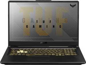 Asus TUF Gaming A17 FA706IU-HX415T (90NR03K1-M07760) (17.3 inch (43 cm), AMD Ryzen 7 4800H, 16 GB DDR4 RAM, 1 TB HDD + 256 GB SSD, 6 GB Graphics, Windows 10 Home) Gaming Laptop