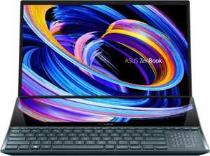 Asus ZenBook Pro Duo UX582LR-H901TS (90NB0U51-M00470) (15.6 inch (39 cm), Intel 10th Gen Core i9-10980HK, 32 GB DDR4 RAM, 1 TB SSD, Windows 10 Home) ScreenPad Plus OLED Touchscreen Designing Laptop with MS Office
