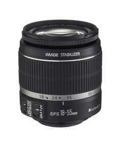 Canon EF-S 18-55 mm F/3.5-5.6 IS II For Canon EF Mount Standard Lens