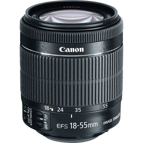 Canon EF-S 18-55 mm F/3.5-5.6 IS STM For Canon EF-M Mount Standard Lens