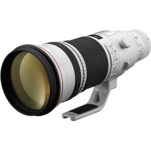 Canon EF 500 mm F/4L IS II USM For Canon EF Mount Telephoto Lens