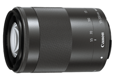 Canon EF-M 55-200 mm F/4.5-6.3 IS STM For Canon EF-M Mount Telephoto Zoom Lens