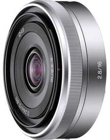 Sony SEL16F28 (E 16 mm F/2.8) For Sony E-mount Mount Wide-angle Lens