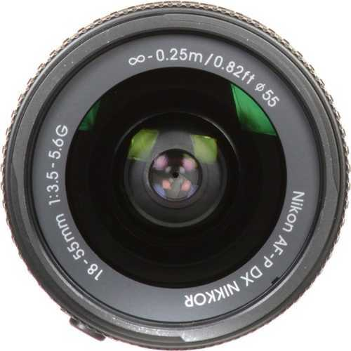 Nikon AF-P DX NIKKOR 18-55 mm F/3.5-5.6G VR For Nikon F Mount Wide-angle Lens